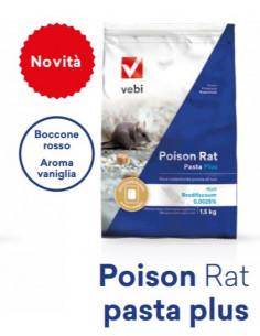 TOPICIDA POISON RAT PASTA PLUS 1,5 KG. Miglior Prezzo