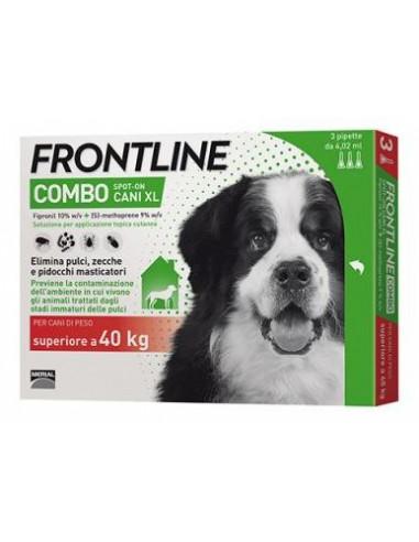 FRONTLINE COMBO KG.40-60 CANI - 3 PIPETTE Miglior Prezzo
