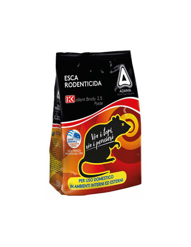 TOPICIDA FRESCA BRODY 2,5 GR.150 ROSSO Miglior Prezzo