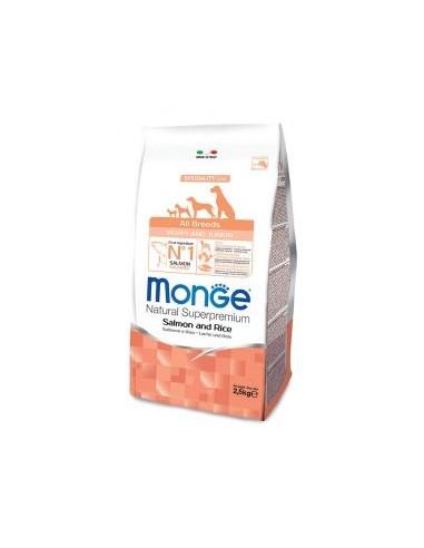 MONGE ALL BREED ADULT SALMONE RISO KG.12 Miglior Prezzo
