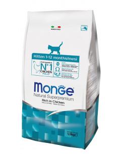 MONGE CAT KITTEN POLLO KG.1,5 Miglior Prezzo