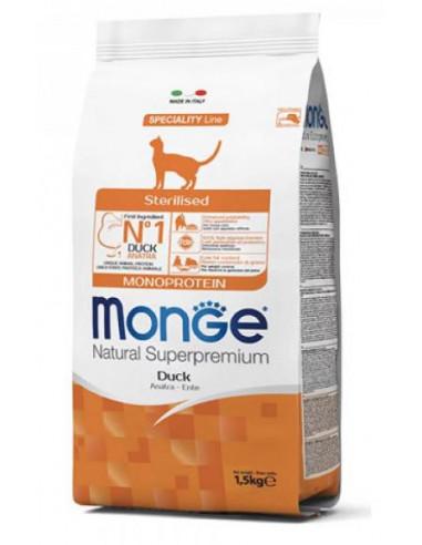 MONGE CAT MONOP. STERILIZED TROTA KG.1,5 Miglior Prezzo