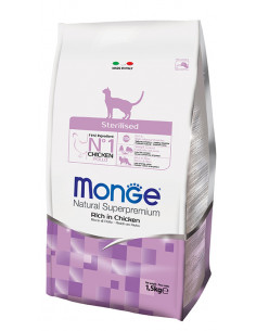 MONGE CAT STERILIZED KG.10 Miglior Prezzo