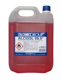 ALCOOL DENATURATO 99,9% CERTIFICATO LT.5 Miglior Prezzo
