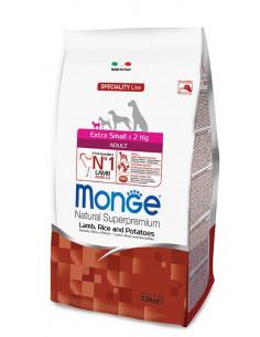 MONGE EX. SMALL ADULT AGNELLO RISO PATATE KG.2,5 Miglior Prezzo