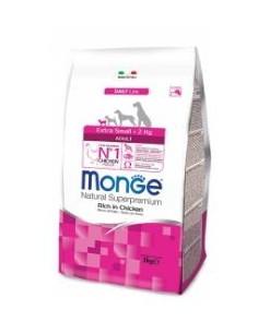 MONGE EX. SMALL ADULT POLLO KG.3 Miglior Prezzo