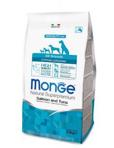 MONGE HYPOALLERG. SALM/TONNO KG.12 Miglior Prezzo