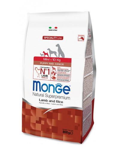 MONGE MINI PUPPY AGNELLO RISO KG.2,5 Miglior Prezzo